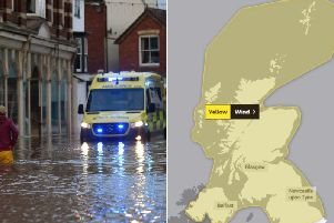 Strong winds have led to more disruption in the country after extreme weather flooded parts of the country  picture: GettyImages/MetOffice