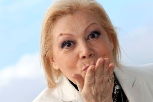 Italian soprano Mirella Freni in 2010 (Photo by VALERY HACHE/AFP via Getty Images)