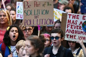 The UN climate change summit in Glasgow is expected to attract, tens of thousands, perhaps hundreds of thousands, of delegates, protesters and others (Picture: John Devlin)