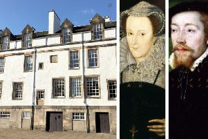 Abbey Strand's colourful history has been entwined with its connections to royalty, including James V and his daughter Mary Queen of Scots.