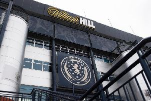 A general view of Hampden as clubs hit out at SFA disciplinary process