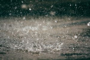 Heavy rain and strong winds are set to hit Scotland this weekend, with a Met Office yellow weather warning in place as flood warnings continue.