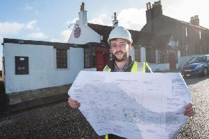 New licensee Reece Webb wants to create a pub 'the community is proud of'. Picture: Alan Richardson