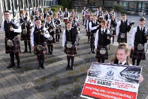 Norther Lanarkshire Schools Pipe Band is among the ensembles which could be cut under cost savings to be considered by the council.
