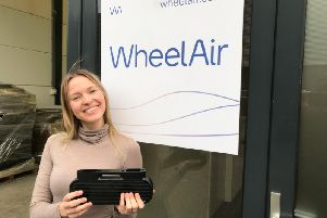 WheelAir MD Corien Staels said sales are increasing in Europe. Picture: Contributed