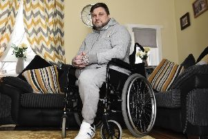 Johnnie Meechan, who is terminally ill with a neuroendocrine tumour, claims that rarer cancers lose out in a funding 'hierarchy'. Picture: Lisa Ferguson