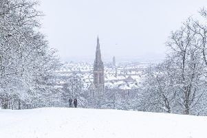 Snow is set to hit most of Scotland on Monday (24 Feb), with temperatures dropping and a Met Office weather warning currently in place.