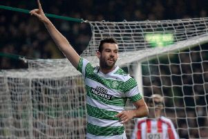 Joe Ledley won three league titles with Celtic. Picture: SNS