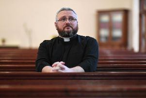 The Rev. Brian Casey of Springburn Parish Church in Glasgow has spoken previously about the the number of his parishioners killed by drugs. Picture: John Devlin