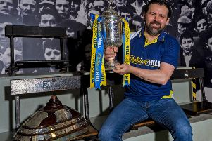 Paul Hartley, at Hampden yesterday to promote the Scottish Cup, says Celtic can defy bookmakers' odds of 40-1 for  Europa League. Picture: SNS