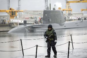 The Faslane naval base is Scotland's second-largest single-site employer (Picture: Danny Lawson/PA Wire)