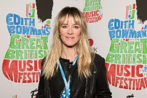 Edith Bowman . Picture: Getty