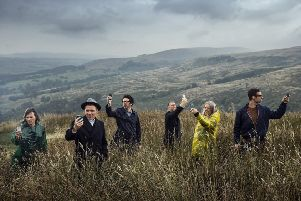 Belle And Sebastian PIC: PA Photo/Soren Solkaer Starbird