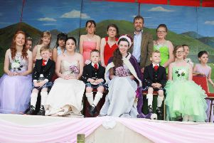 Last year's Queen of Galloway Molly Dalrymple was crowned by Galloway MSP Finlay Carson