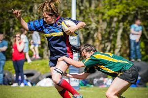 Stornoway girls go wild - history made at Stornoway Rugby Club