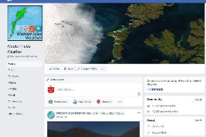 Video - Western Isles Weather and so much more!