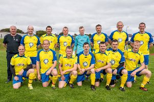 The Fire Service side won the match 4-3 but the real winners were Autism Eileanan Siar and Motivated by Mervyn.