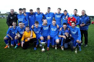 West Side with the Eilean an Fhraoich Cup they have won for the seventh time in just 11 seasons.