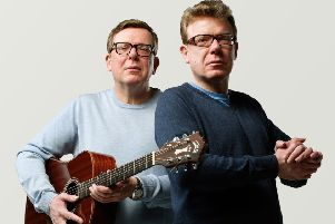 Charlie and Craig Reid, The Proclaimers, to perform in Inverness in July.
