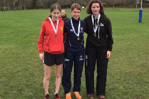 Cross Country capers with Stornoway Running and Athletic Club stars in action