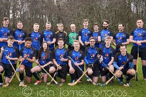 Ready for the new season and renewed optimism in Camanachd Leòdhais camp for the league campaign