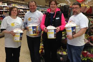 Stornoway's Co-op store made a magnificent effort during the fundraising month.