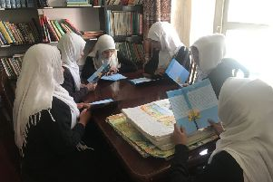 Five thousand copies of the illustrated children's book will be distributed to schools and orphanages across Afghanistan.
