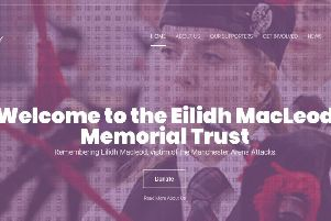 Team Eilidh hits the streets of Manchester and Edinburgh