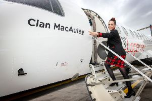 Clans take to the skies with Scotland's Airline