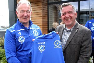Western Isles Island Games Association kit launch