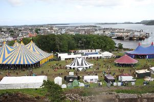 Time travel and transportation seemed real at HebCelt Saturday