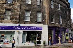 Healthy life centre in Edinburgh