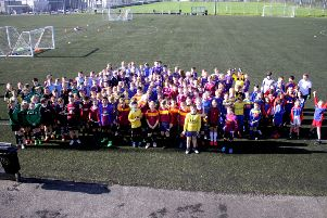 Primary School Football Festival hailed a huge success