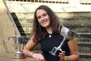 Isabelle Bain lands precious Traditional Gold medal at the Mod