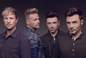 Westlife announce June gig in Inverness
