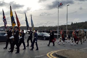 Remembrance Day parade and commemorations