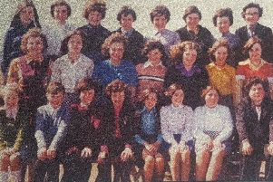 Shawbost pupils in 1975 - 76