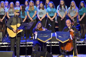 The show will go on for the pupils who will be on their way to the Celtic Connections event in Glasgow this Friday.