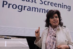 If you have any worries about breast screening it is recommended that you watch the Elaine C. Smith video at: https://www.youtube.com/watch?v=FOplwRPhq1o.