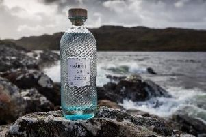 Isle of Harris Gin includes flavours such as:  Juniper, Coriander, Angelica Root, Orris Root and Bitter Orange Peel.