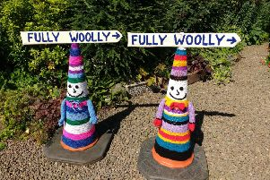 Yarnbombers launch another Selkirk strike