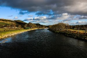 Ewan Dickson was looking down the Tweed at Gattonside when  he captured this image.