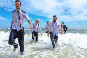 Frank Turner and the Sleeping Souls.