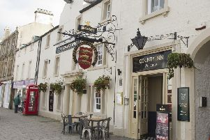 The County Inn in Peebles.