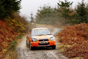 Top rally action comes to Jedburgh on Saturday (picture by John Lindsay Photo Sport).