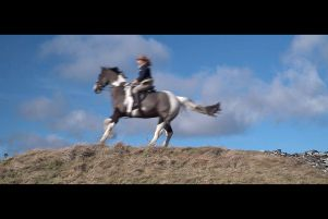A film exploring the deep-rooted connection to horses in the Borders is Alchemy Film & Arts next exhibition, opening in Hawick on March 29.'The River, the Horse and the Woman, an imaginative video installation by Rhona M�hlebach, an artist and filmmaker based in Glasgow. 'Inspired by both Western classics and the Borders Reivers, Rhona began filming in January 2019, collaborating with local riders and drawing upon the unique vistas of Hawick's surrounding landscape.'The film sees Rhona in character as The Narrator, telling the story of a river, a horse and a woman. Not as tame as the narrator initially thought, the horse-and-rider protagonists quickly take over the show, rendering the narrator redundant.'Full details at www.alchemyfilmandarts.org.uk.