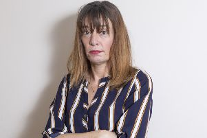 Online fraud victim Gail Astin. Photo: Katielee Arrowsmith / SWNS