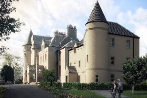 How the extension proposed for the old Castle Venlaw Hotel in Peebles would look.