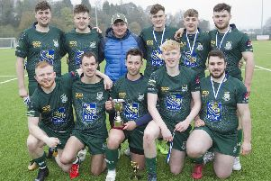 Can you feel the Force? Hawick Force, winners of the Linden Sevens (picture by Bill McBurnie)