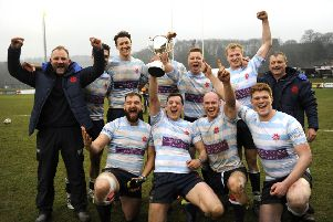 Edinburgh Accies - triumphant at the Gala Sevens (picture by Alwyn Johnston).